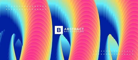 fondo astratto di forma della miscela del tubo strutturato multicolore vettore