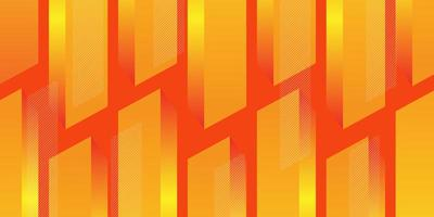 sfondo moderno arancione forme ad angolo verticale vettore