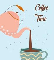 composizione del tempo del caffè