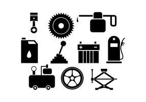 Icone e strumenti vettoriali automobilistici gratuiti