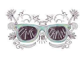 Citazione di occhiali da sole vettore