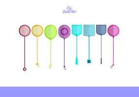 Fly Swatter Free Vector Pack