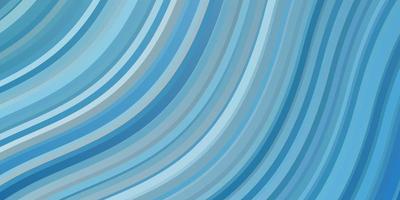 trama blu chiaro con curve. vettore