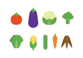 Verdure icona vettoriale