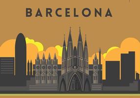 Vettore dell'illustrazione di Sagrada Familia