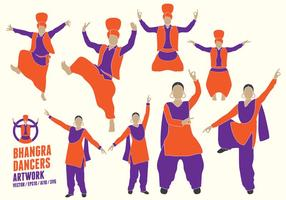 Punjabi Dancers Figure