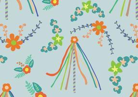 Pattern di albero di maggio floreale