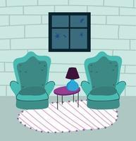 grazioso interno di casa per la quarantena