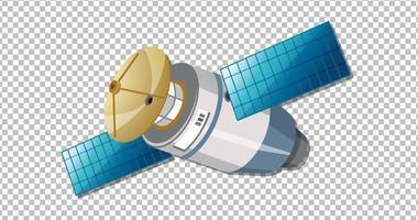 satellite su sfondo trasparente