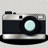 fotocamera isolata isolata