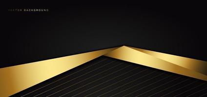 modello astratto con sfondo triangolo nero