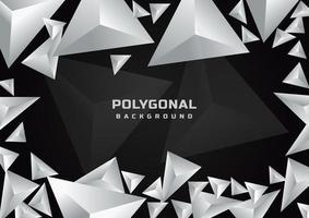 sfondo poligonale geometrico astratto