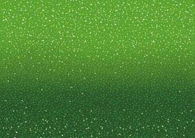 sfondo verde con glitter e scintillii