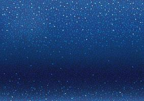 sfondo blu con glitter e scintillii