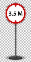 segnale stradale rosso