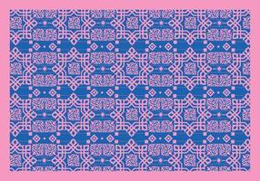 Vettore rosa degli ornamenti islamici