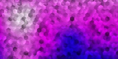 trama viola e rosa con forme.