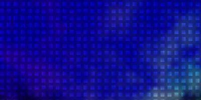 motivo blu in stile quadrato. vettore