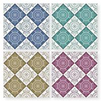 Modello di piastrelle patchwork marocchino multicolor senza soluzione di continuità vettore