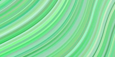 layout verde chiaro con curve.