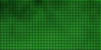 sfondo verde con punti.