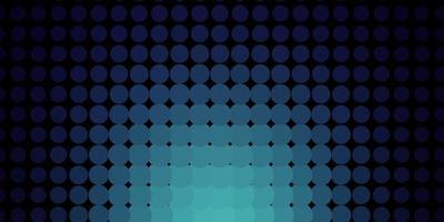 trama blu scuro con dischi. vettore