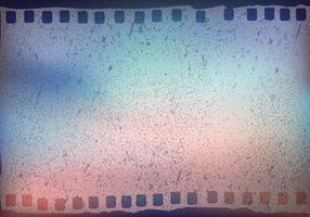 Grana pellicola multicolore con il vettore di Bokeh