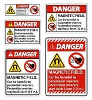 i campi magnetici possono essere set di segni dannosi
