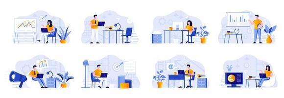 raggruppamento del reparto marketing con le persone