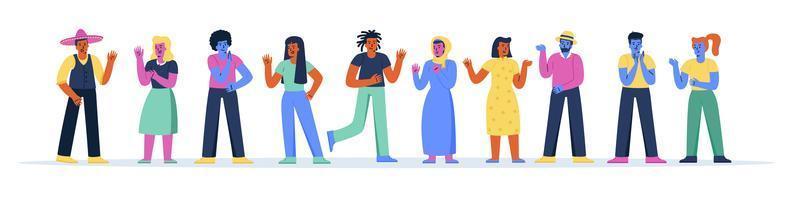 banner orizzontale con diversi uomini e donne