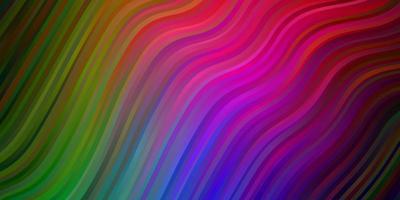 sfondo multicolore con curve.