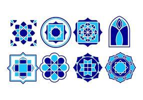 Vettore islamico dell'ornamento