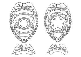 Distintivi del dipartimento di polizia