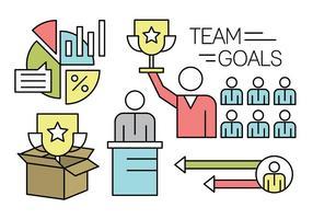 pacchetto di lavoro di squadra lineare