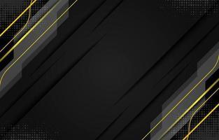 elegante sfondo nero pulito vettore