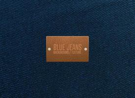 trama di blue jeans vettore