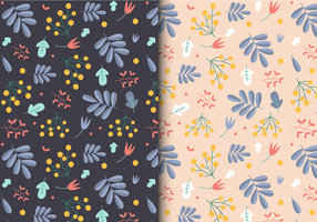 Free pattern floreale della sorgente vettore
