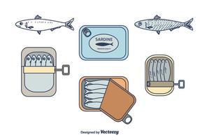 Pacchetto di vettore di sardine