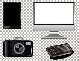 set di elettronica tecnologica