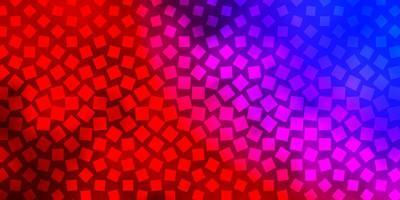 sfondo blu e rosso in stile poligonale.