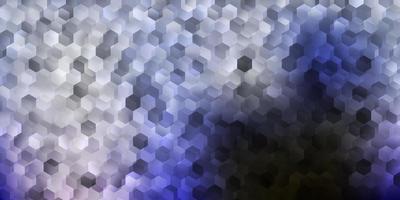 trama blu con forme geometriche.