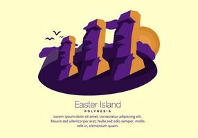 Sfondo dell'isola di Pasqua