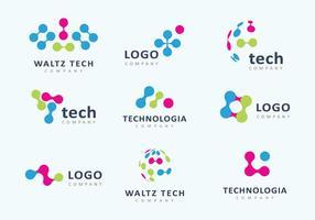 vettore di logo di tecnologia
