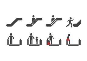 Icone di scale mobili gratuite
