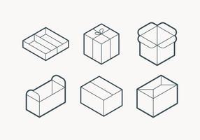 Icona del profilo di imballaggio