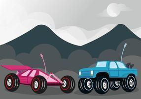 Vettore della concorrenza dell'automobile di RC