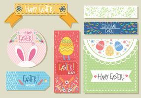 Divertenti tag regalo di Pasqua