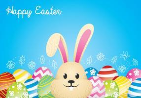 Sfondo di coniglietto di Pasqua