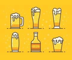 Icone vettoriali gratis Cerveja