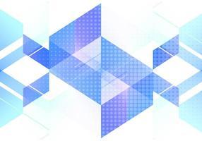 Vettore colorato sfondo poligonale
